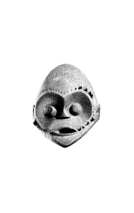 drawing pencil dessin africa tribal mask camerun
