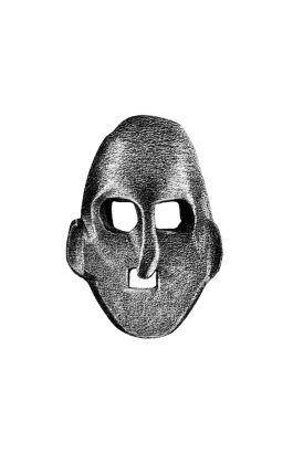 drawing pencil dessin olovka nepal tribal mask
