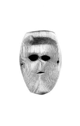 drawing pencil dessin nepal tribal mask