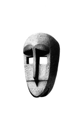 drawing pencil dessin mali tribal mask