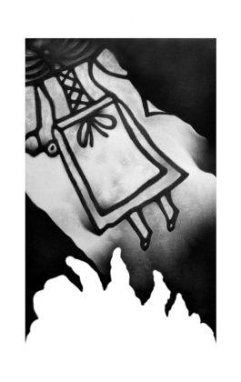 drawing pencil dessin olovka crtež femme fatale