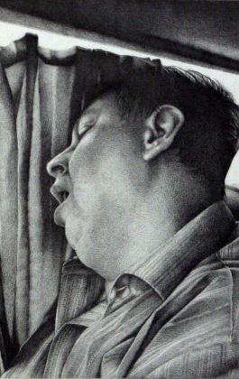 drawing pencil dessin olovka crtež portrait man